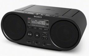 Rádiomagnetofón Sony ZS-PS50B, čierny