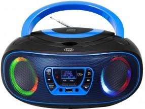 Rádiomagnetofón Trevi CMP583, modrý