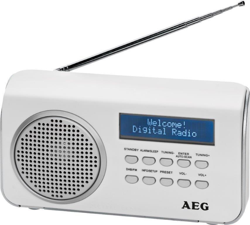 Rádioprijímač AEG DAB 4130 (White)