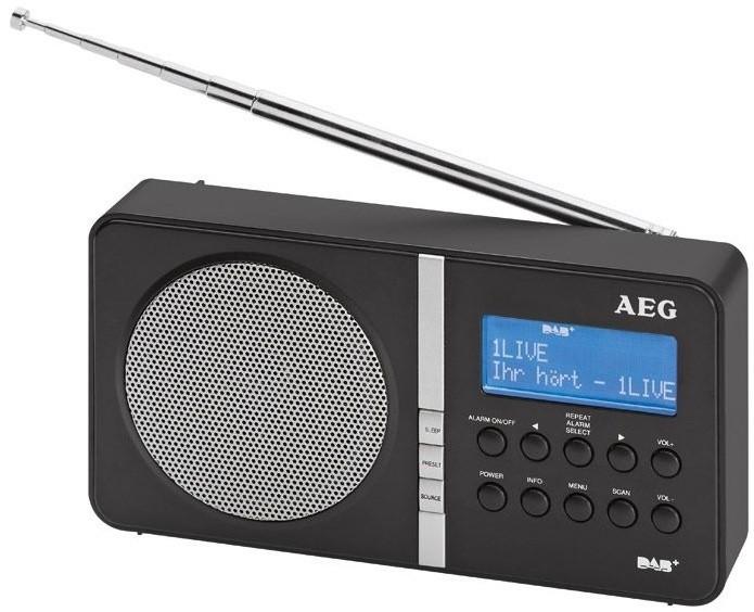 Rádioprijímač AEG DAB 4138 BK (Black) ROZBALENÉ