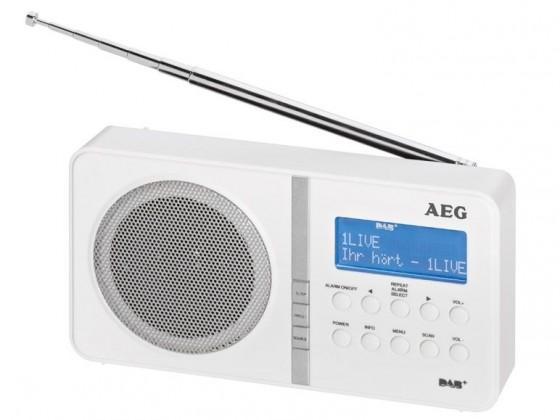 Rádioprijímač AEG DAB 4138 WH (White)