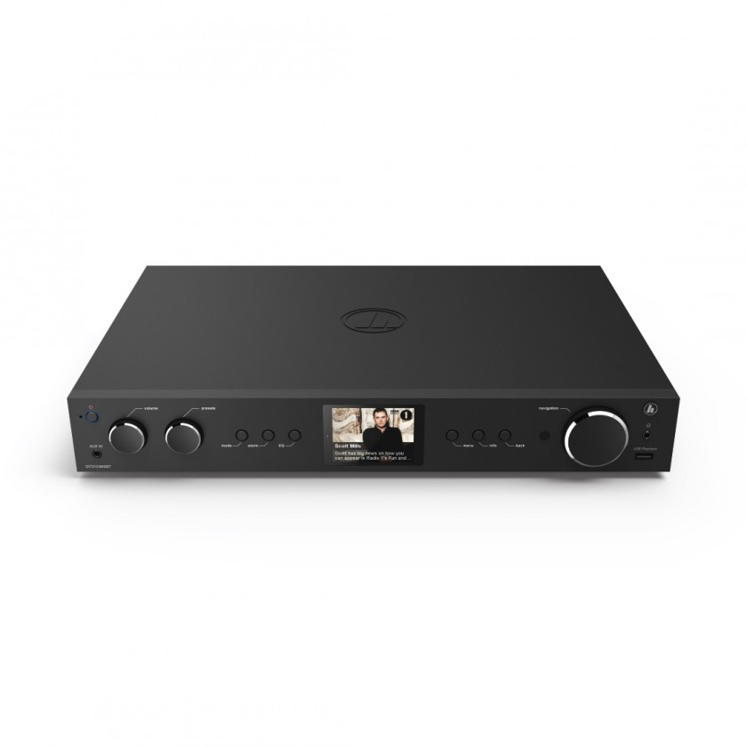 Rádioprijímač Hama DIT2100MSBT, hybrid Hi-Fi Tuner, FM/DAB/DAB+/MR/BT, čierne