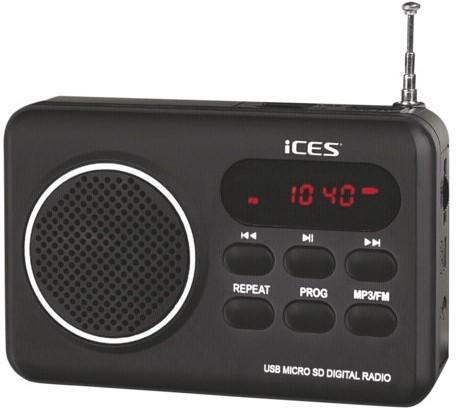 Rádioprijímač ICES IMPR-112 černá