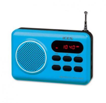 Rádioprijímač ICES IMPR-112 modrá