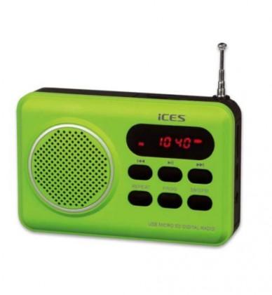 Rádioprijímač ICES IMPR-112 zelená