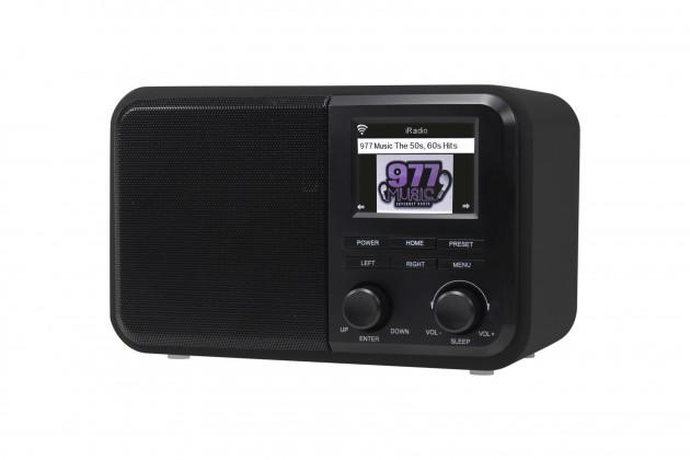 Rádioprijímač Internetové rádio Denver IR-130