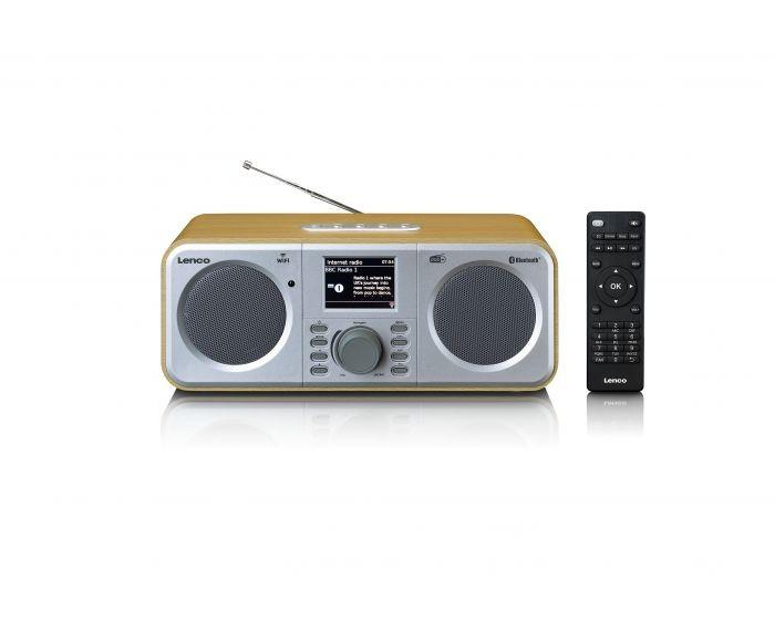 Rádioprijímač Internetové rádio Lenco DIR-140