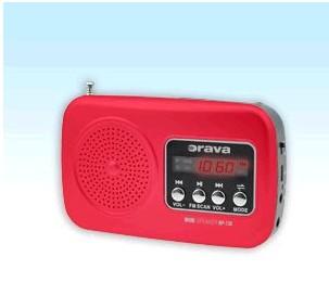 Rádioprijímač Orava RP-130 R červený