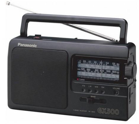 Rádioprijímač Panasonic RF-3500E9-K