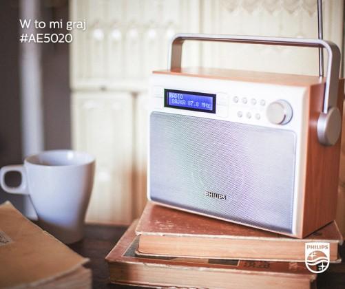 Rádioprijímač Philips AE5020/12