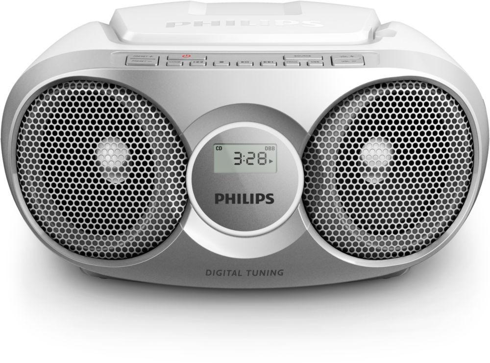 Rádioprijímač Philips AZ215S POUŽITÝ, NEOPOTREBOVANÝ TOVAR