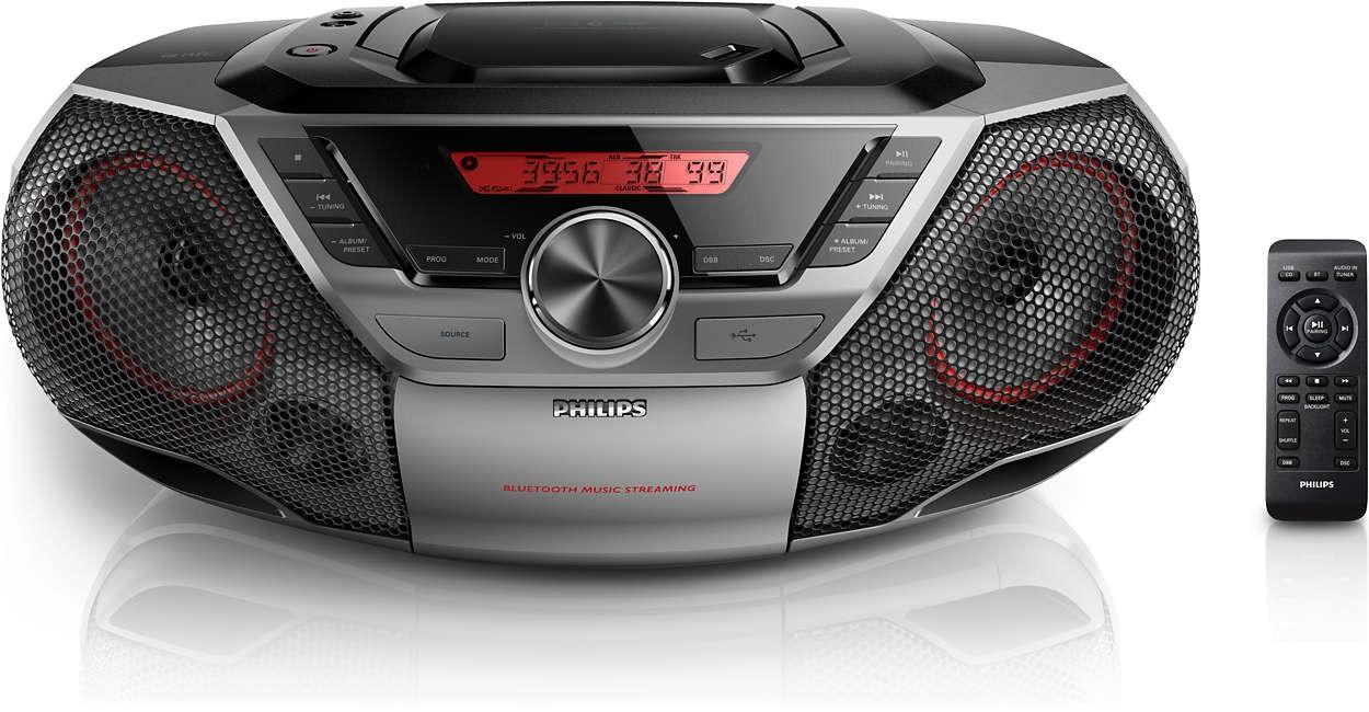 Rádioprijímač Philips AZ700T/12