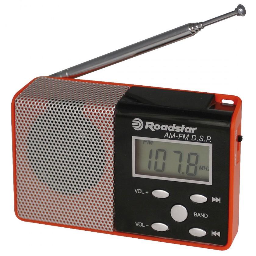 Rádioprijímač ROADSTAR TRA-2395P/RD