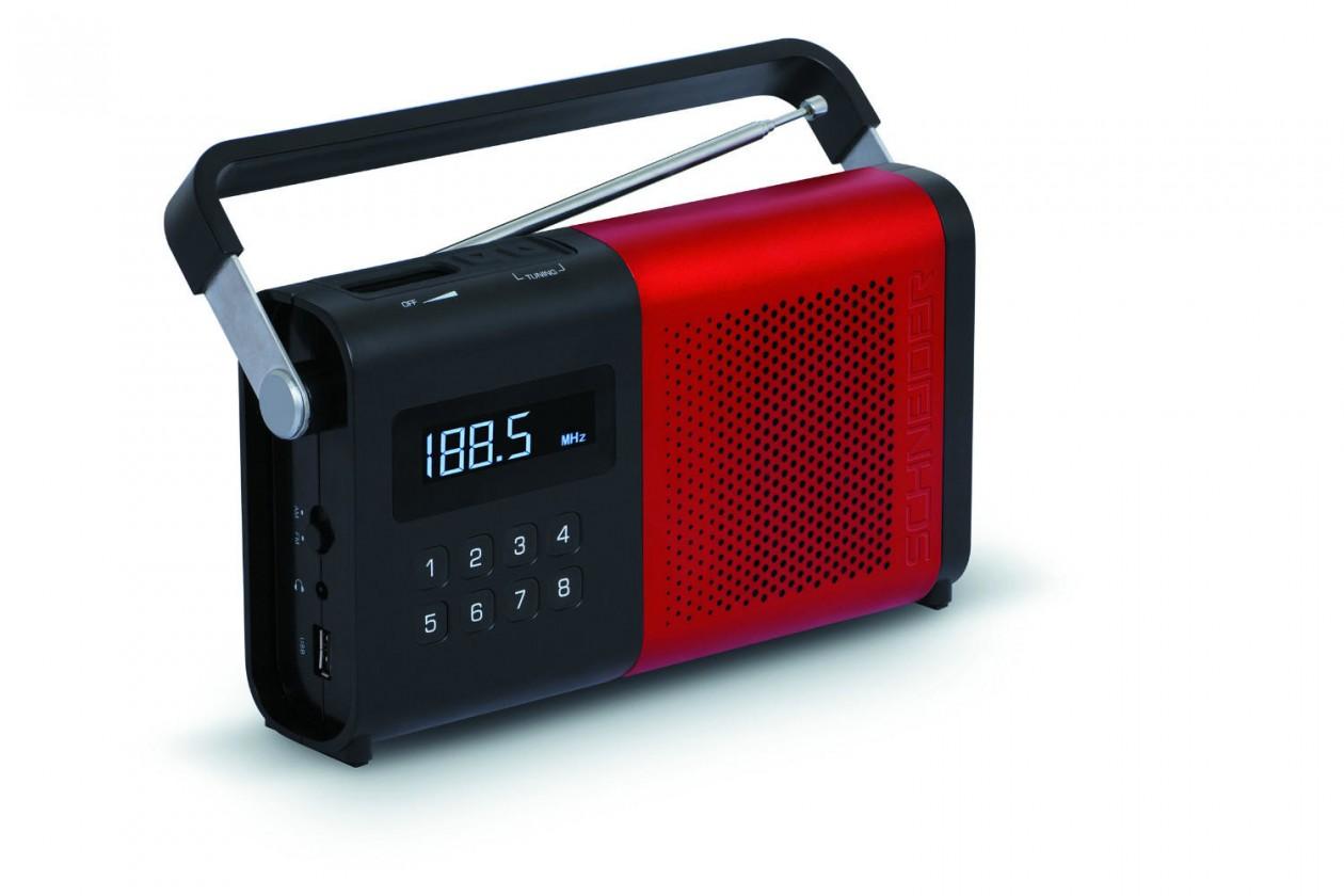 Rádioprijímač Schneider SC170ACLRED/MOVIMO