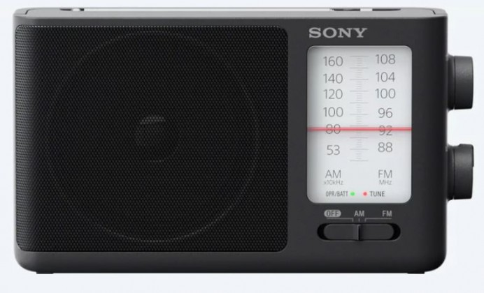 Rádioprijímač Sony ICF-506
