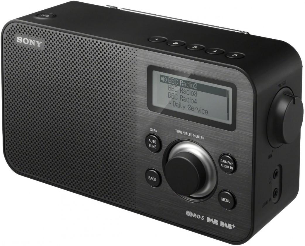 Rádioprijímač Sony XDR-S60DBP (čierne)