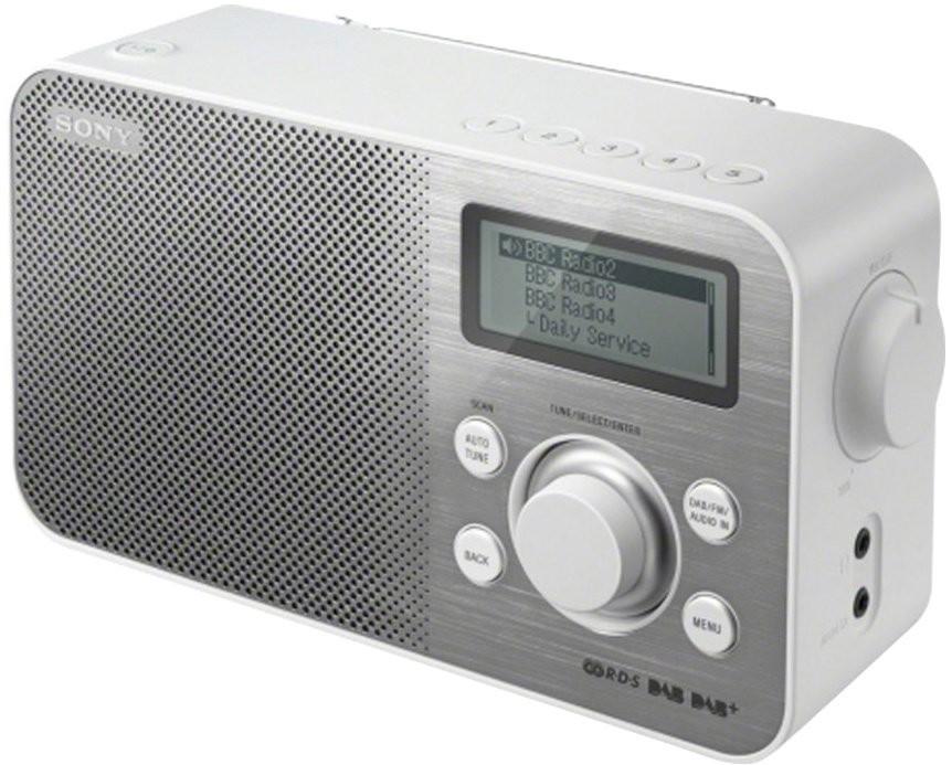 Rádioprijímač SONY XDR-S60DBPW, biele