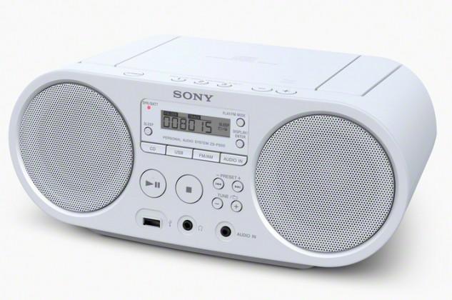 Rádioprijímač SONY ZS-PS50W White