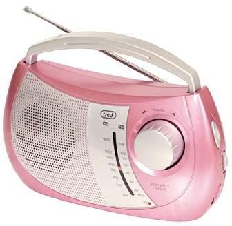 Rádioprijímač  Trevi RA 764 Pink