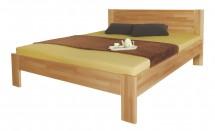 Rám postele Gemma, 140x200, masívny buk, prírodný