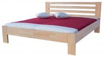 Rám postele Ines, 160x200, masívny buk, prírodný