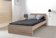 Rám postele Nikola I, 90x200, dub