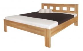 Rám postele Silvana 140x200, masívny buk