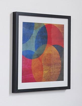 Rámček 41-322 (modrá, oranžová, červená)