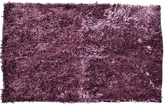 Rasta micro new - kúpeľňová predložka, 50x80 cm (fialová)