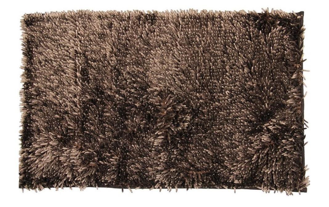 Rasta micro new - kúpeľňová predložka, 50x80 cm  (hnedá)