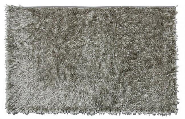 Rasta micro new - kúpeľňová predložka, 50x80 cm  (sivá)