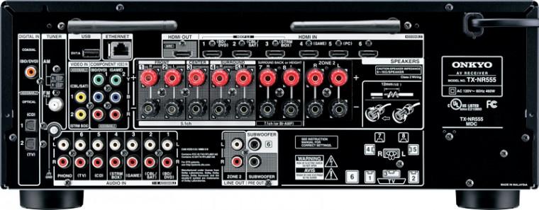 Receivery Onkyo TX-NR555 B