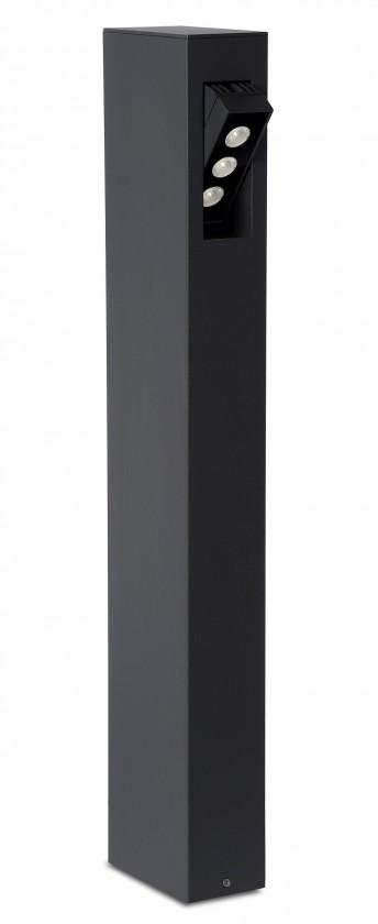 Rectan - vonkajšie osvetlenie, 9W, LED (čierna)