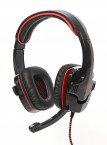 Red Fighter,Herní sluchátka s mikrofonem,USB, QMRDM01RGR00