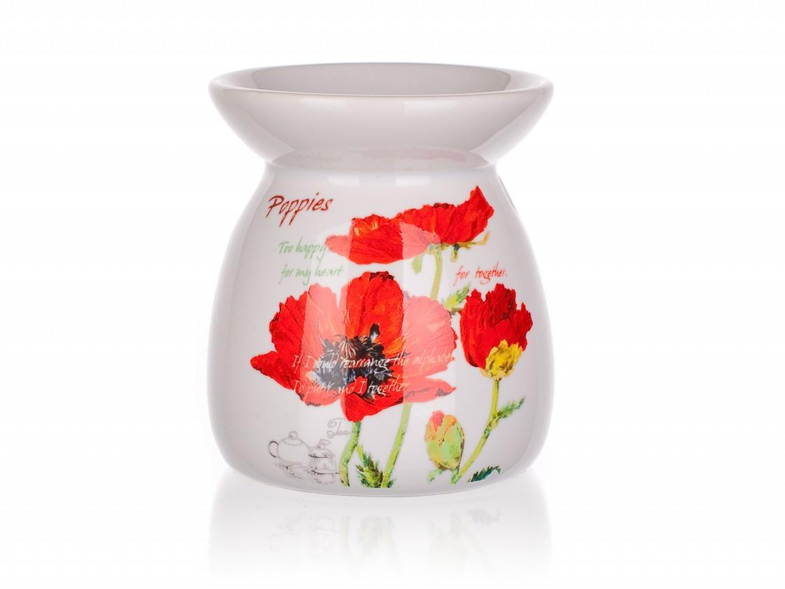 Red Poppy - Aromalampa, 10,2 cm (biela)