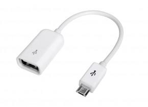 Redukcia Avantree USB OTG na MicroUSB pre pripojenie flash disku