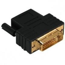 Redukcia DVI-D vidlice - HDMI zásuvka, pozlacená POŠKODENÝ OBAL