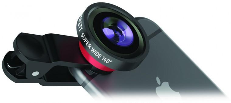 Redukcie a ostatné p Cygnett GoCapture univerzálna šošovka na smartfóny pre širokouhlé