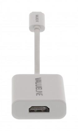 Redukcie a ostatné p USB 3.1 redukční kabel, C zástrčka# HDMI# zásuvka, 0,15m