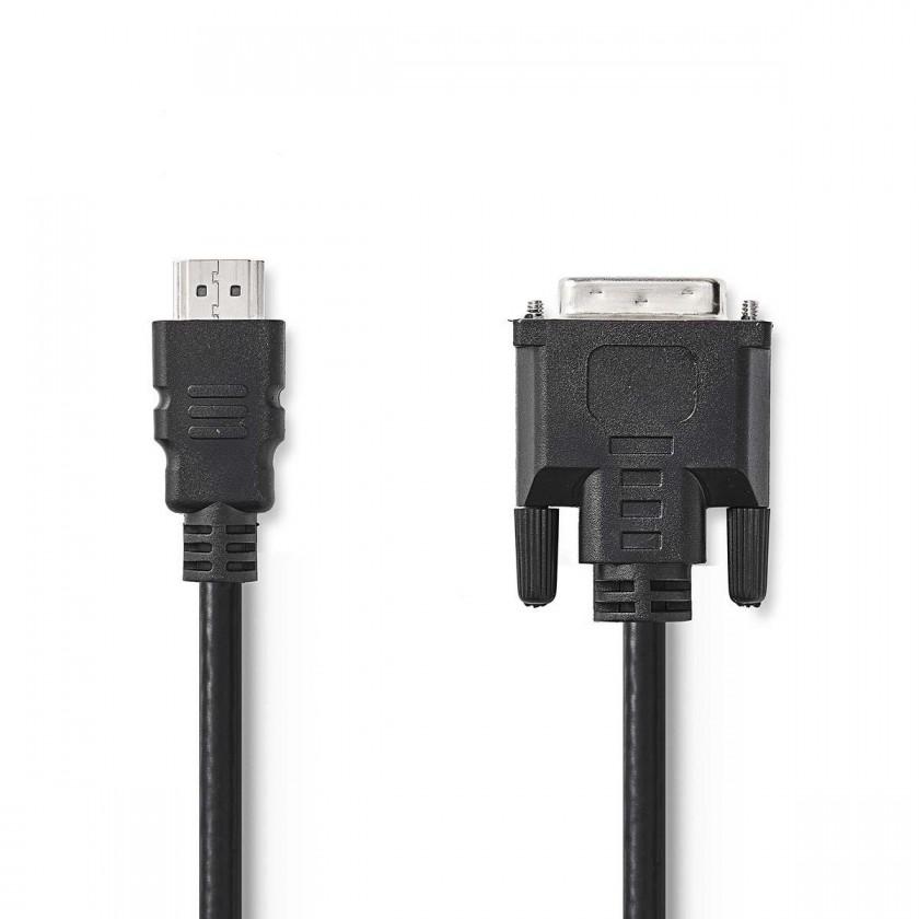 Redukcie Redukcia DVI na HDMI Valueline (VLCP34800B20)