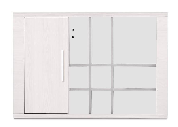 Regál Cool - Závesný prvek 327127 (smrekovec biely/smrekovec biely)