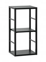 Regál Cube 04 (čierna)