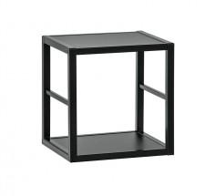 Regál Cube 05 (čierna)