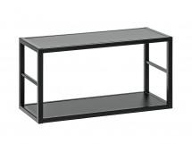 Regál Cube 06 (čierna)