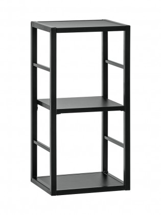 Regál Regál Cube 04 (čierna)