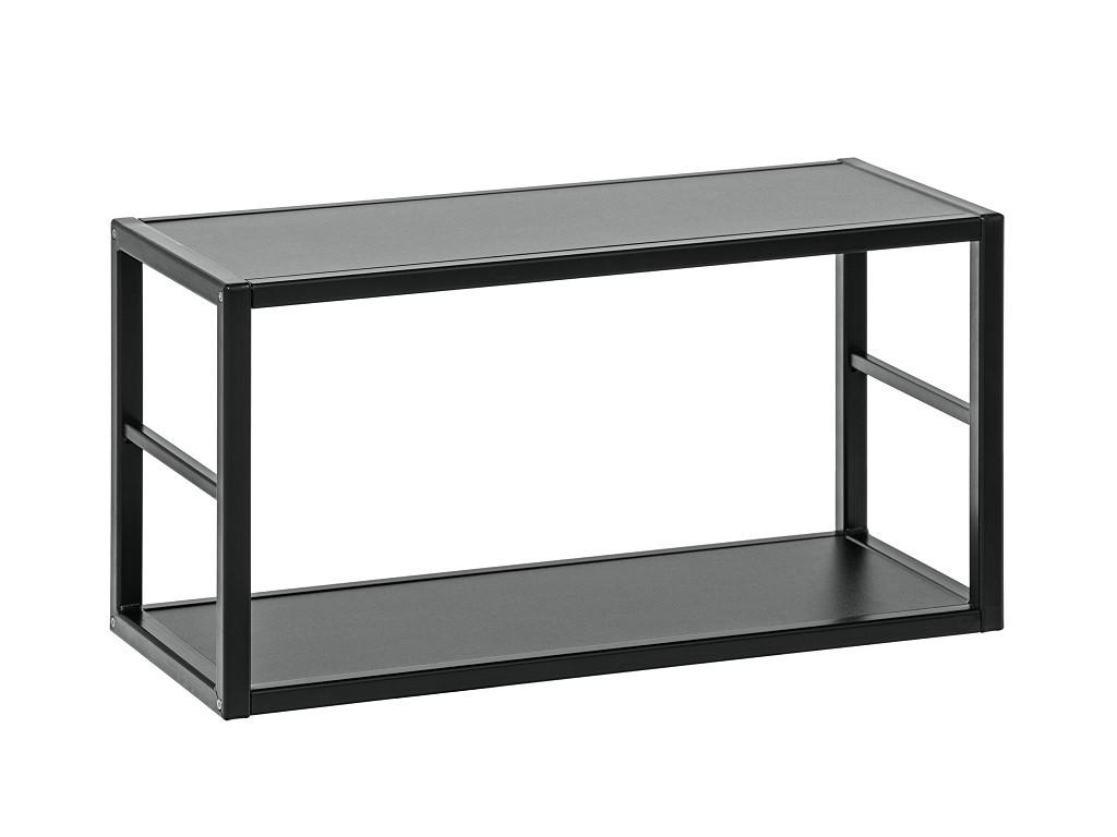 Regál Regál Cube 06 (čierna)