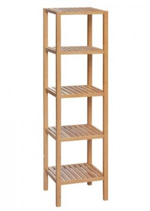 Regál Regál DR-011-3 (bambus lakovaný)