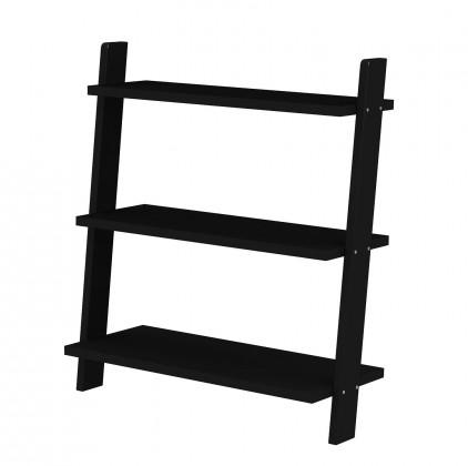Regál Strada - 2015-024, regál (čierna)