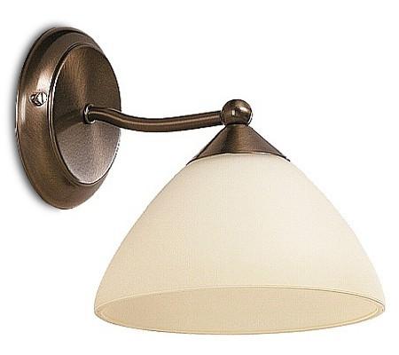 Regina - Nástěnné osvetlenie, 8171 (bronzová/krémová)