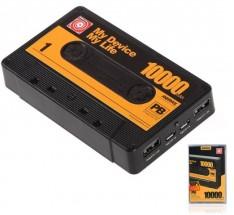 Remax powerbanka Tape, 10000 mAh, černá